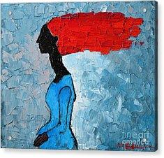 Passion Seeker Acrylic Print by Ana Maria Edulescu
