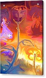 Passion Acrylic Print by Sotiris Filippou