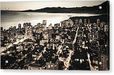 Acrylic Print featuring the photograph Passionate English Bay. Mccclxxviii By Amyn Nasser by Amyn Nasser