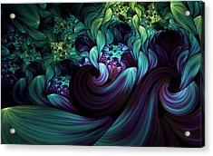 Passionate Mindfulness Acrylic Print