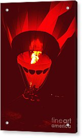 Acrylic Print featuring the painting Passion's Flame by Nancy Cupp