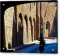 Past And Present Acrylic Print by Douglas J Fisher