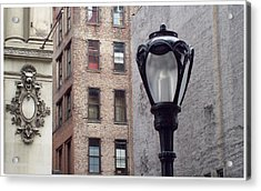 Past Facing Future Acrylic Print by Jhoy E Meade