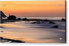 Past Meets Present By Denise Dube Acrylic Print