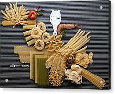 Pasta Acrylic Print