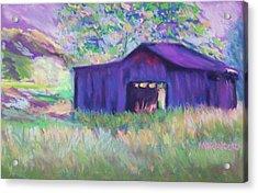 Pastel Barn II Acrylic Print