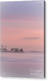 Pastel Islands In The Gulf Acrylic Print by Marvin Spates