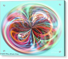 Pastel Light Acrylic Print