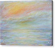Pastel Sea  Acrylic Print