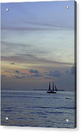 Acrylic Print featuring the photograph Pastel Sky by Laurie Perry