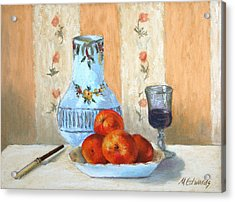 Pastel Study Acrylic Print by Marna Edwards Flavell