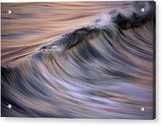 Pastel Wave  Mg2081 Acrylic Print by David Orias
