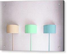 Pastels. Acrylic Print