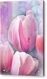 Pastels Of Spring Acrylic Print