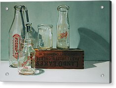 Pasteurized Acrylic Print by Denny Bond