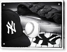 Pastime Essentials Acrylic Print by John Rizzuto
