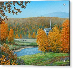 Pastoral Countryside Acrylic Print
