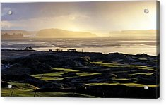Acrylic Print featuring the photograph Pastoral Symphony - Chambers Bay Golf Course by Chris Anderson