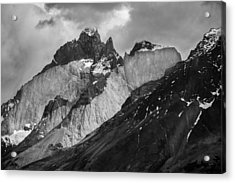 Patagonian Mountains Acrylic Print