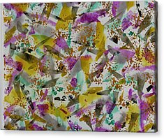 Patches Acrylic Print by Lisa Williams