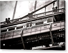 Patco Acrylic Print by Olivier Le Queinec
