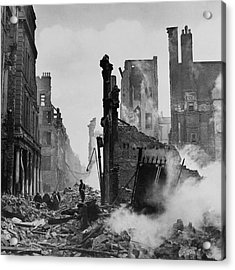 Paternoster Row After Bombing Acrylic Print