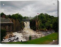 Paterson Great Falls Acrylic Print by Douglas Adams