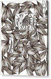 Path Acrylic Print by Anca S