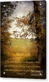 Path Of Life Acrylic Print