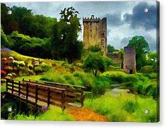 Path To Blarney Castle Acrylic Print by Jeff Kolker