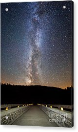 Path To Our Galaxy   Acrylic Print