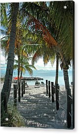 Path To Smathers Beach - Key West Acrylic Print