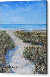 Path To The Beach Acrylic Print