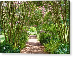 Path To The Garden Acrylic Print