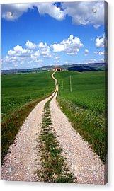 Path To The Horizon Acrylic Print by Arie Arik Chen