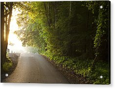 Path To The Light Acrylic Print by Andrew Soundarajan