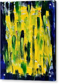 Paths To The Cross Acrylic Print by Tom Atkins