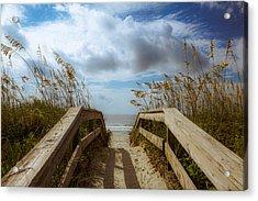 Pathway To Paradise Acrylic Print