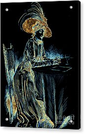 Patience Digital 1910 Acrylic Print by Padre Art