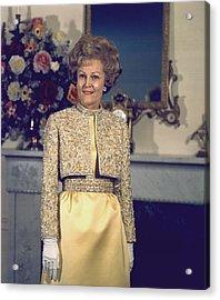 Patricia Nixon Models Her Harvey Berin Acrylic Print by Everett