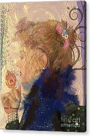 Patricia Prays Acrylic Print