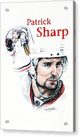 Patrick Sharp - The Cup Run Acrylic Print by Jerry Tibstra
