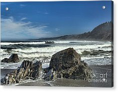 Patrick's Rocks Acrylic Print by Adam Jewell