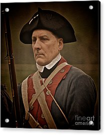 Acrylic Print featuring the photograph Patriot by Mark Miller