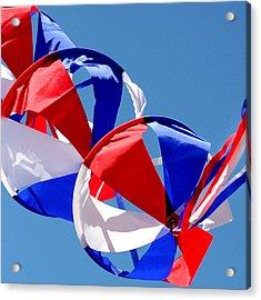 Patriotic Kite Acrylic Print