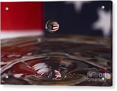 America Acrylic Print by Anthony Sacco