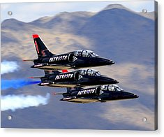 Patriots Perform At Reno Air Races Acrylic Print