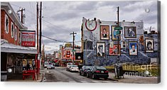 Pat's And Geno's 2 Acrylic Print by Jack Paolini