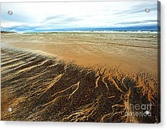 Patterns In The Tides Acrylic Print