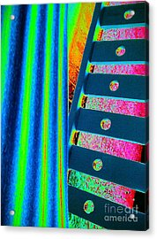 Patterns Acrylic Print by Jacqueline McReynolds